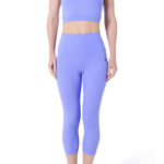 woman wearing high waist yoga pants and a top, high waisted leggings for women, legging