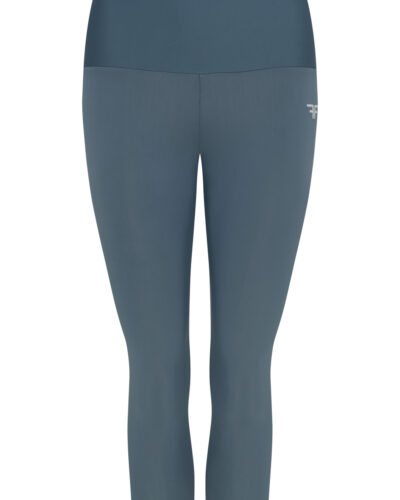 Front view of woman wearing high waisted legging and top, Side view of woman wearing high waisted legging and top, Back view of woman wearing high waisted legging and top, cotton high waisted legging